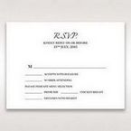 Black Laser Contempo Laser Cut Pocket - RSVP Cards - Wedding Stationery - 75