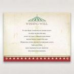 Red Big Top Celebration - Wishing Well / Gift Registry - Wedding Stationery - 83