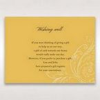 Yellow/Gold Urban Chic with Gold Swirls - Wishing Well / Gift Registry - Wedding Stationery - 29