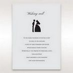 Silver/Gray Traditional Birde and Groom - Wishing Well / Gift Registry - Wedding Stationery - 29