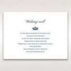 Blue Jeweled Borders - Wishing Well / Gift Registry - Wedding Stationery - 31