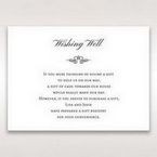 Silver/Gray Kinne Ivory - Wishing Well / Gift Registry - Wedding Stationery - 95