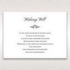 Silver/Gray Kinne White - Wishing Well / Gift Registry - Wedding Stationery - 62