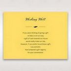 Yellow/Gold Mystic Forest Band Laser Cut - Wishing Well / Gift Registry - Wedding Stationery - 80