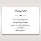 White Mystic Forest Laser Cut Wrap II - Wishing Well / Gift Registry - Wedding Stationery - 6