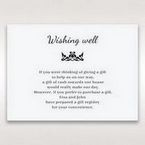 White Laser Gated Elegance Laser Cut Pocket - Wishing Well / Gift Registry - Wedding Stationery - 63