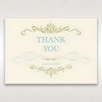 Yellow/Gold Regal Splendor - Thank You Cards - Wedding Stationery - 43