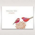 Red Love Birds - Thank You Cards - Wedding Stationery - 49