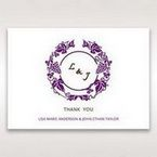 Purple Royal Purple Winery - Thank You Cards - Wedding Stationery - 89
