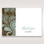 Blue Vintage Swirls - Thank You Cards - Wedding Stationery - 21