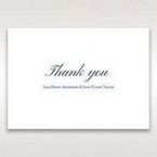White Something Old and Blue - Thank You Cards - Wedding Stationery - 94