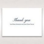 Blue Urban Chandelier - Thank You Cards - Wedding Stationery - 14