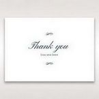 Purple Romantic Elegance, Couture - Thank You Cards - Wedding Stationery - 16