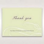 Green Butterfly in the Green Meadow - Thank You Cards - Wedding Stationery - 7