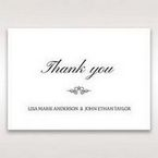 Silver/Gray Galaxy Gold - Thank You Cards - Wedding Stationery - 63
