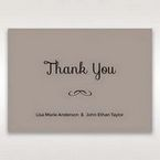Silver/Gray Laser Peacock Laser Cut Pocket With Foil - Thank You Cards - Wedding Stationery - 27