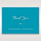 Blue Mystic Forest Band Laser Cut - Thank You Cards - Wedding Stationery - 49