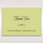 Green Laser Contempo Laser Cut Pocket - Thank You Cards - Wedding Stationery - 25