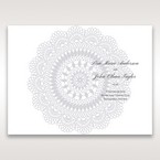 Blue Blue Elegance, Floral Couture - Order of Service - Wedding Stationery - 82