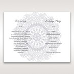 Blue Blue Elegance, Floral Couture - Order of Service - Wedding Stationery - 83