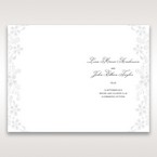 White Laser Cut Floral Wrap - Order of Service - Wedding Stationery - 28
