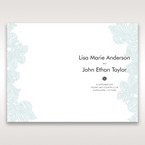 Blue Laser Cut Flower Wrap - Order of Service - Wedding Stationery - 66