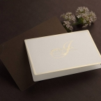 Brown Luxury Invitation - Wedding invitation - 20
