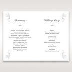 White Promise - Order of Service - Wedding Stationery - 75