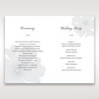 White True Love - Order of Service - Wedding Stationery - 79