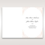 White Edge of Heaven - Order of Service - Wedding Stationery - 80