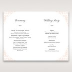 White Edge of Heaven - Order of Service - Wedding Stationery - 81