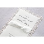 White Amabilis - Wedding invitation - 3