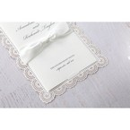 White Amabilis - Wedding invitation - 4