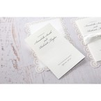 White Amabilis - Wedding invitation - 9