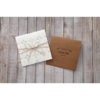 Brown Rustic - Wedding invitation - 44