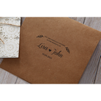 Brown Rustic - Wedding invitation - 45
