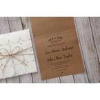 Brown Rustic - Wedding invitation - 47