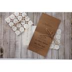 Brown Rustic - Wedding invitation - 49