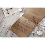 Brown Rustic - Wedding invitation - 50
