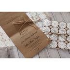 Brown Rustic - Wedding invitation - 52