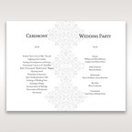 Black A Night at the Opera - Order of Service - Wedding Stationery - 35