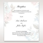 Blue Magical Flower Garden - Reception Cards - Wedding Stationery - 52