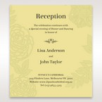 Green Magical Garden - Reception Cards - Wedding Stationery - 98