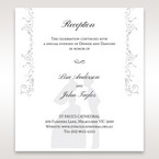 White Promise - Reception Cards - Wedding Stationery - 58