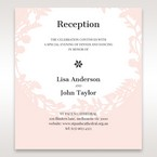 Pink Enchanted Forest I Laser Cut P - Reception Cards - Wedding Stationery - 38