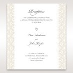 White Amabilis - Reception Cards - Wedding Stationery - 43
