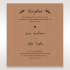 Brown Rustic - Reception Cards - Wedding Stationery - 8