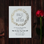Charming Garland wedding invitations FWI116104-TR-GG