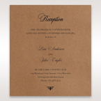 Brown Country Glamour - Reception Cards - Wedding Stationery - 4