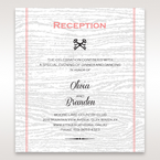 Brown Eternity - Reception Cards - Wedding Stationery - 8
